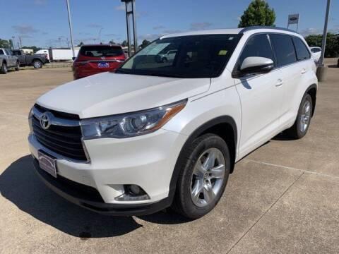 2016 Toyota Highlander for sale at AutoJacksTX.com in Nacogdoches TX