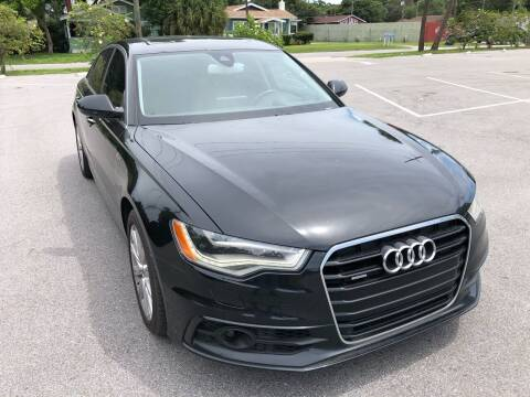 2012 Audi A6 for sale at Consumer Auto Credit in Tampa FL