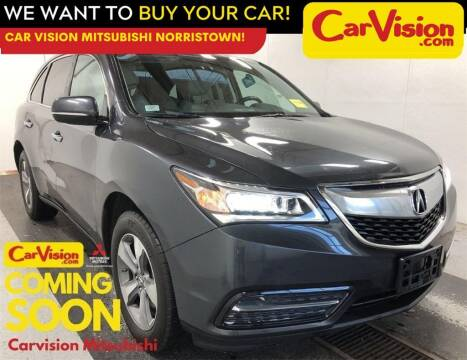 2015 Acura MDX for sale at Car Vision Mitsubishi Norristown in Trooper PA