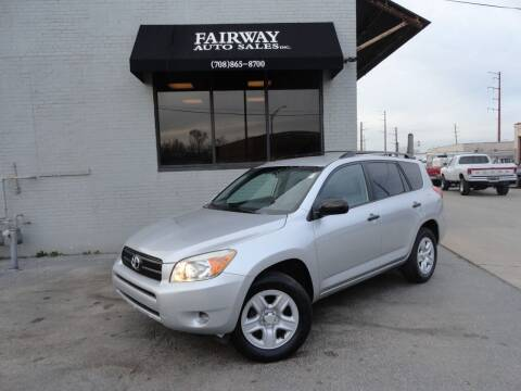 2008 Toyota RAV4 for sale at FAIRWAY AUTO SALES, INC. in Melrose Park IL