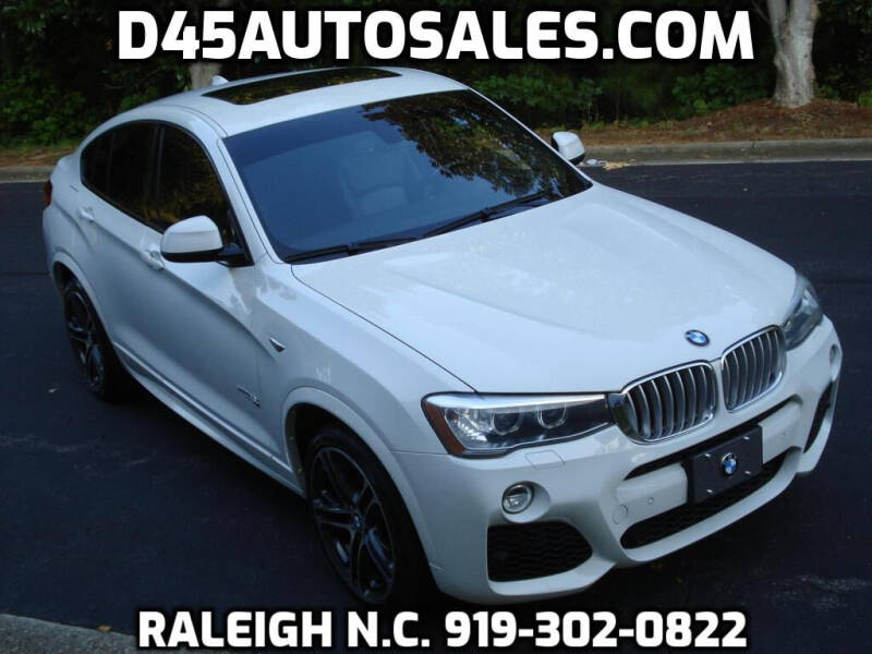 2016 BMW X4 for sale at D45 Auto Brokers in Raleigh NC