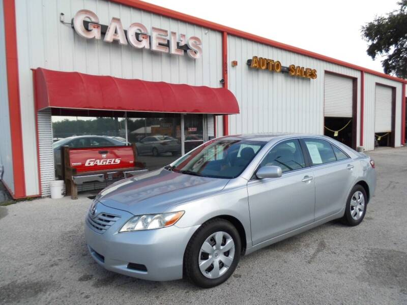 2007 Toyota Camry for sale at Gagel's Auto Sales in Gibsonton FL