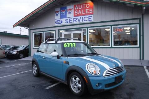 2010 MINI Cooper for sale at 777 Auto Sales and Service in Tacoma WA