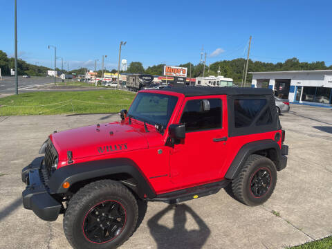 2015 Jeep Wrangler for sale at Moye's Auto Sales Inc. in Leesburg FL