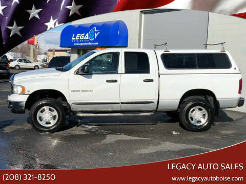 2004 Dodge Ram Pickup 3500 for sale at LEGACY AUTO SALES in Boise ID