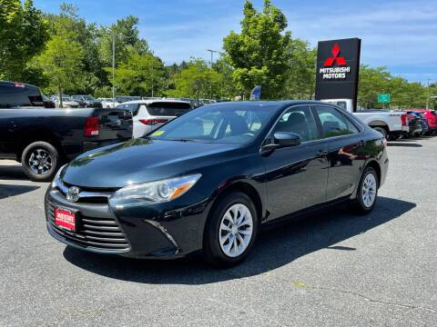 2017 Toyota Camry for sale at Midstate Auto Group in Auburn MA