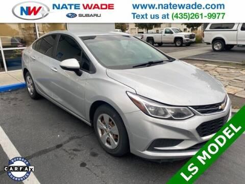 2017 Chevrolet Cruze for sale at NATE WADE SUBARU in Salt Lake City UT
