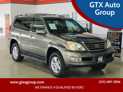 2006 Lexus GX 470 for sale at GTX Auto Group in West Chester OH