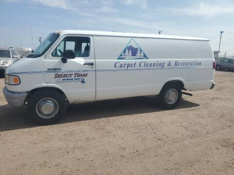 1994 Dodge Ram Van for sale at PYRAMID MOTORS - Fountain Lot in Fountain CO