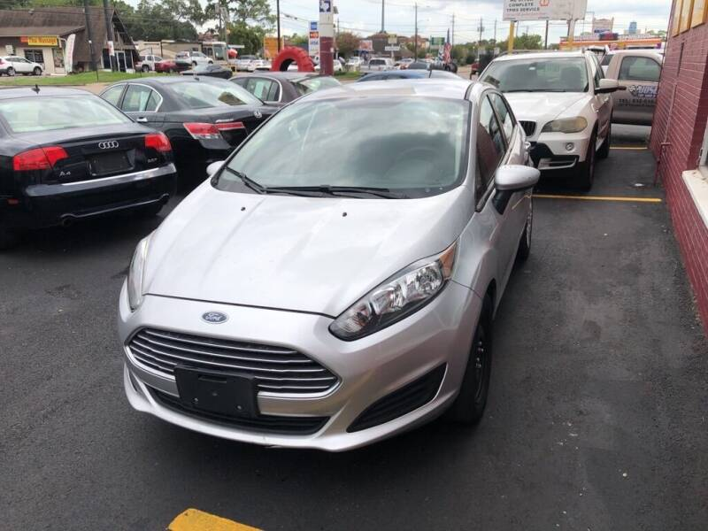 2014 Ford Fiesta for sale at 4 Girls Auto Sales in Houston TX