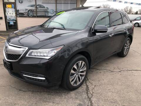 2014 Acura MDX for sale at TOP YIN MOTORS in Mount Prospect IL