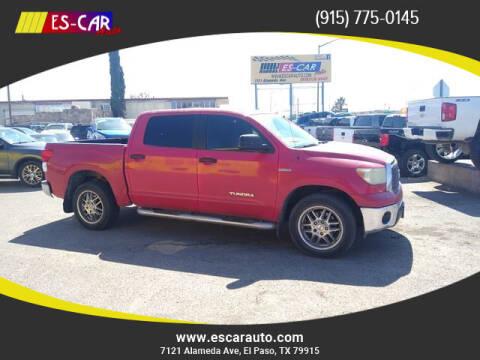2011 Toyota Tundra for sale at Escar Auto in El Paso TX