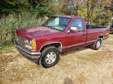 1989 Chevrolet C/K 1500 Series for sale at Northwoods Auto & Truck Sales in Machesney Park IL