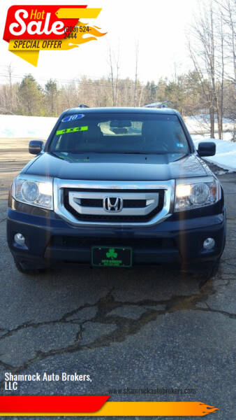 2010 Honda Pilot for sale at Shamrock Auto Brokers, LLC in Belmont NH