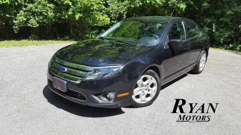 2010 Ford Fusion for sale at Ryan Motors LLC in Warsaw IN