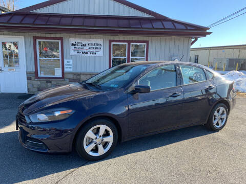 2016 Dodge Dart for sale at Stoltzfus Auto Sales in Lancaster PA