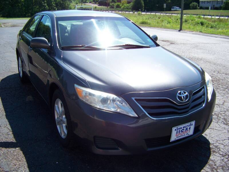 2011 Toyota Camry for sale at KERN MOTORS in Danville PA