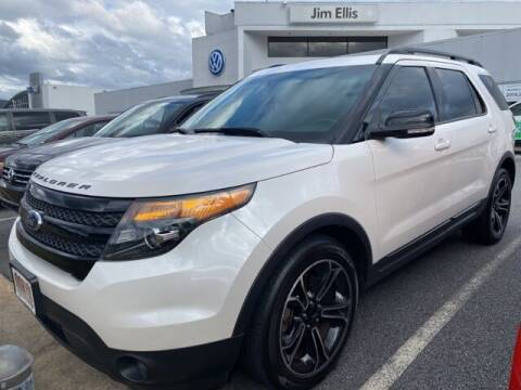 2015 Ford Explorer for sale at Southern Auto Solutions - Georgia Car Finder - Southern Auto Solutions-Jim Ellis Volkswagen Atlan in Marietta GA