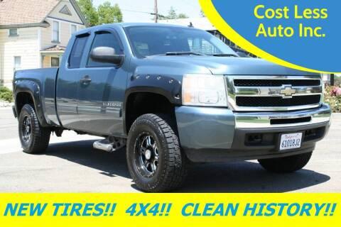 2009 Chevrolet Silverado 1500 for sale at Cost Less Auto Inc. in Rocklin CA