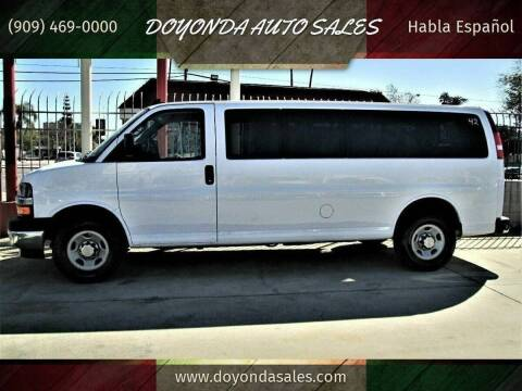 2017 Chevrolet 3500 EXPRESS for sale at DOYONDA AUTO SALES in Pomona CA