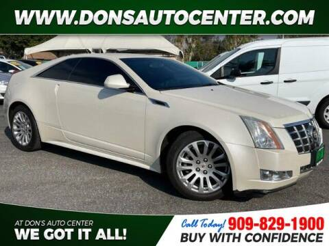 2014 Cadillac CTS for sale at Dons Auto Center in Fontana CA