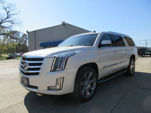2015 Cadillac Escalade ESV for sale at Quality Investments in Tyler TX