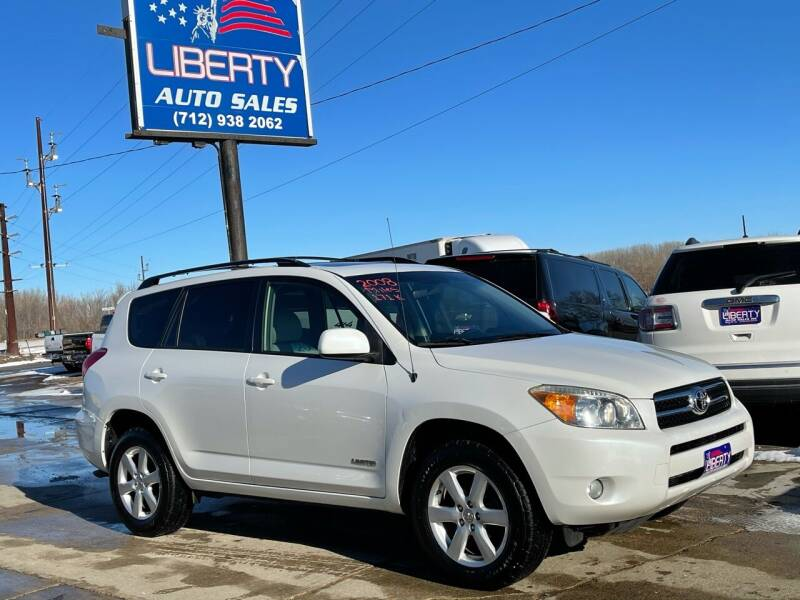 2008 Toyota RAV4 for sale at Liberty Auto Sales in Merrill IA