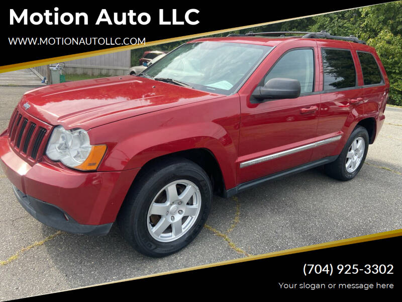 2010 Jeep Grand Cherokee for sale at Motion Auto LLC in Kannapolis NC