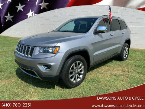 2014 Jeep Grand Cherokee for sale at Dawsons Auto & Cycle in Glen Burnie MD