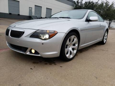 2005 BMW 6 Series for sale at ZNM Motors in Irving TX