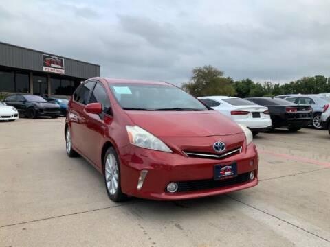 2014 Toyota Prius v for sale at KIAN MOTORS INC in Plano TX