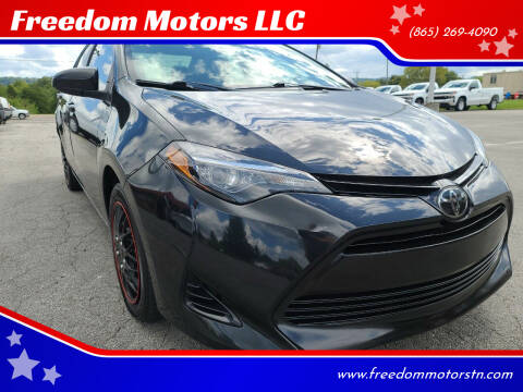2018 Toyota Corolla for sale at Freedom Motors LLC in Knoxville TN