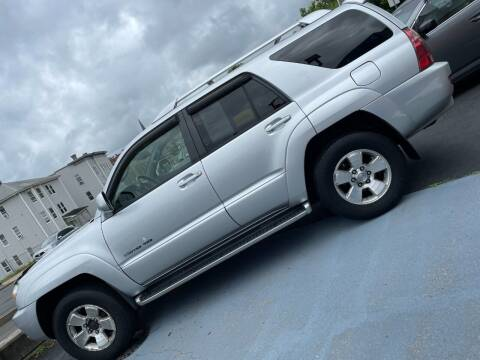 2004 Toyota 4Runner for sale at Broadway Auto Services in New Britain CT