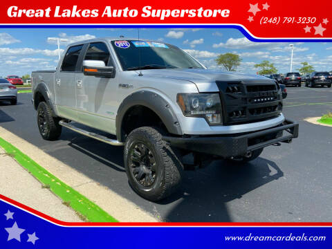 2012 Ford F-150 for sale at Great Lakes Auto Superstore in Waterford Township MI