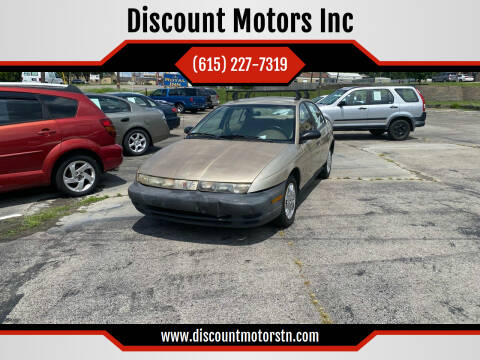 1998 Saturn S-Series for sale at Discount Motors Inc in Nashville TN