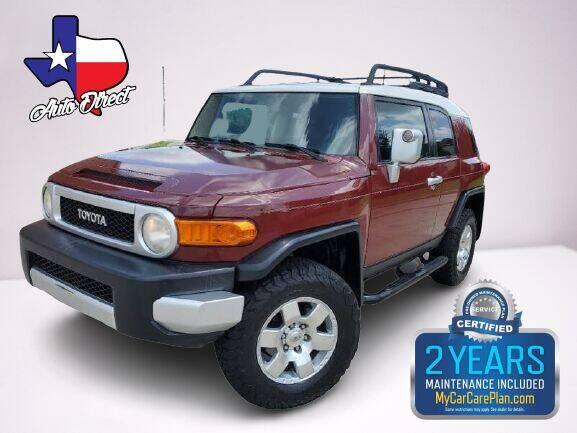 2008 Toyota FJ Cruiser for sale at AUTO DIRECT in Houston TX