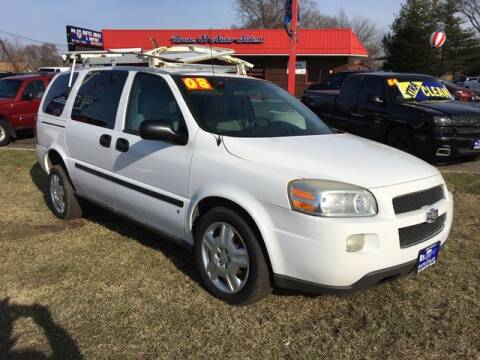 2008 Chevrolet Uplander for sale at ROUTE 31 AUTO SALES in McHenry IL