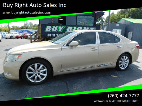 2007 Lexus LS 460 for sale at Buy Right Auto Sales Inc in Fort Wayne IN