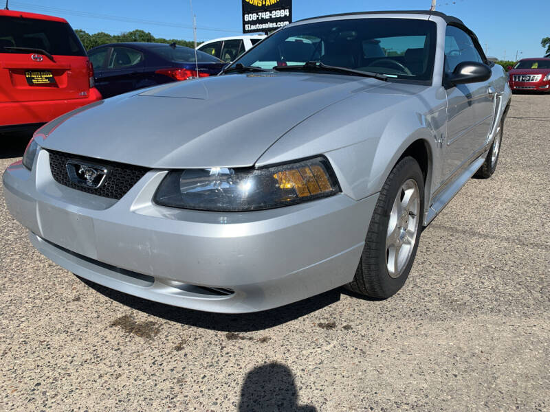 2003 Ford Mustang for sale at 51 Auto Sales Ltd in Portage WI