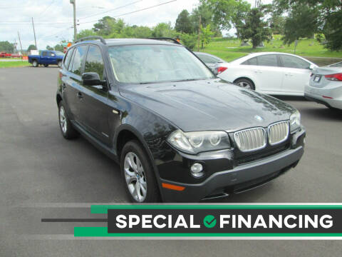 2009 BMW X3 for sale at Downtown Motors in Macon GA