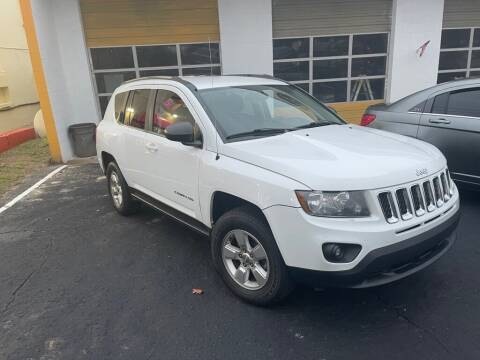 2014 Jeep Compass for sale at The Strong St. Moses Auto Sales LLC in Tallahassee FL