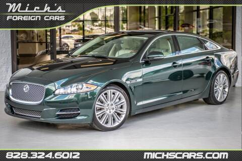 2012 Jaguar XJL for sale at Mich's Foreign Cars in Hickory NC