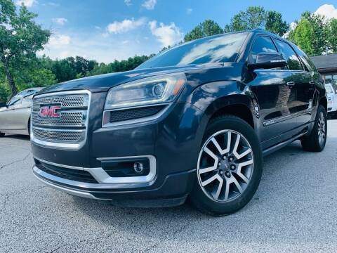 2014 GMC Acadia for sale at Classic Luxury Motors in Buford GA