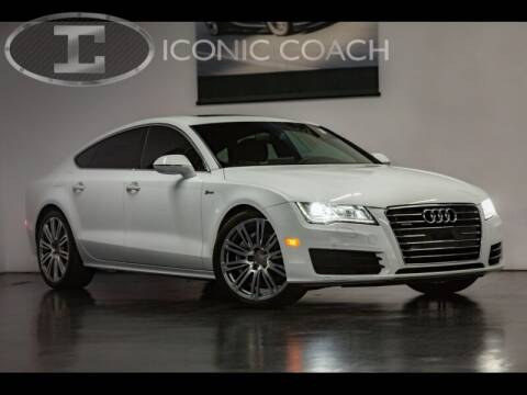 2013 Audi A7 for sale at Iconic Coach in San Diego CA
