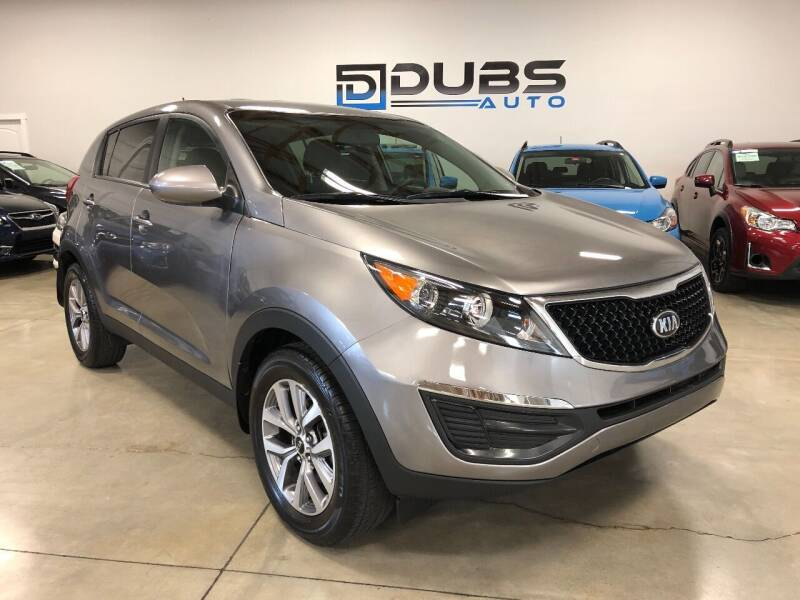 2015 Kia Sportage for sale at DUBS AUTO LLC in Clearfield UT