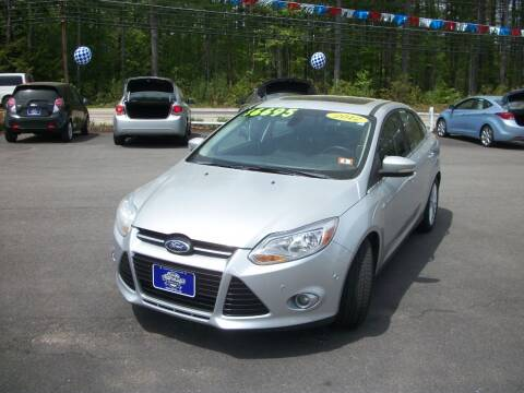 2012 Ford Focus for sale at Auto Images Auto Sales LLC in Rochester NH