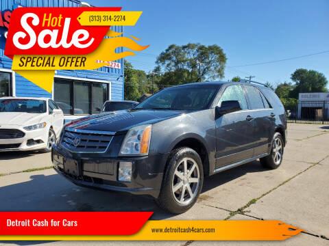 2004 Cadillac SRX for sale at Detroit Cash for Cars in Warren MI