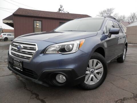 2016 Subaru Outback for sale at Ted's Auto Sales in Louisville OH