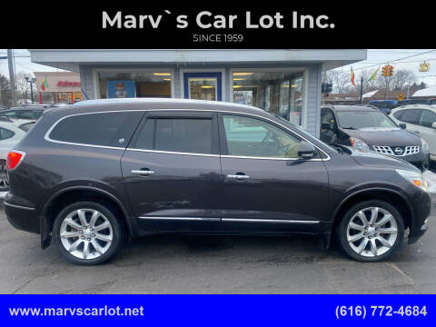 2013 Buick Enclave for sale at Marv`s Car Lot Inc. in Zeeland MI