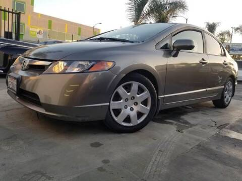 2008 Honda Civic for sale at GENERATION 1 MOTORSPORTS #1 in Los Angeles CA